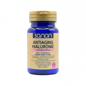 Antiaging Hialuronic cápsulas Sanon 60 cápsulas.