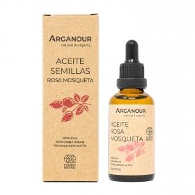 Aceite de rosa mosqueta ecológico Arganour 50 ml.