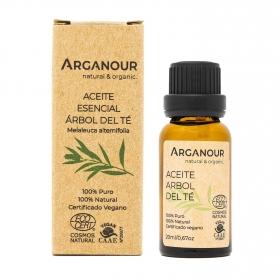 Aceite árbol del té 100% puro Arganour 20 ml.