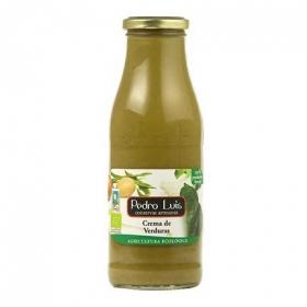 Crema de verduras ecológica Pedro Luis sin gluten 485 g.