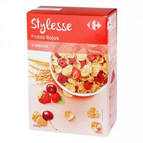 Cereales con frutos rojos Stylesse Carrefour 500 g.