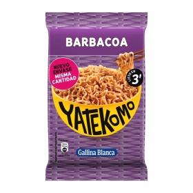 Fideos Orientales barbacoa Yatekomo Gallina Blanca 82 g.