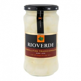 Cebollitas en vinagre Rioverde 180 g.