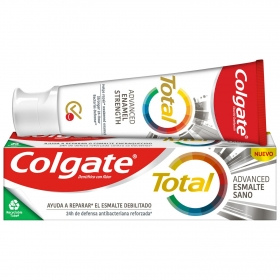 Dentífrico Total esmalte debilitado Colgate 75 ml.