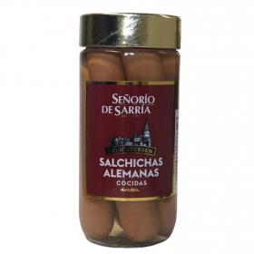 Salchichas alemanas Señorio de Sarria 375 g.