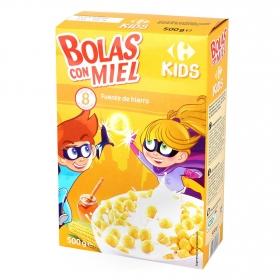 Cereales con maíz y miel Carrefour Kids 500 g.