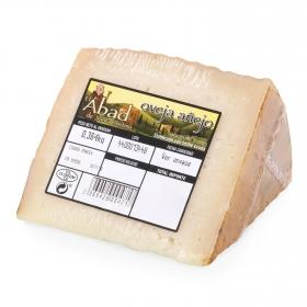Queso de oveja añejo graso El Abad de Santa Cristina cuña 1/8, 375 g aprox