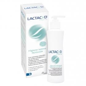 Gel higiene íntima protección Lactacyd 250 ml.