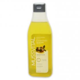 Gel de aceite de oliva Essentials Hipoalergénico Mussvital 750 ml.