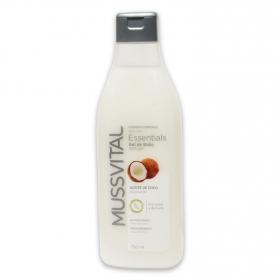Gel aceite de coco Essentials Hipoalergénico Mussvital 750 ml.