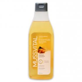 Gel aceite de almendras Essentials Hipoalergénico Mussvital 750 ml.