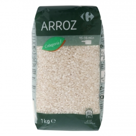 Arroz categoría primera Carrefour 1 kg.