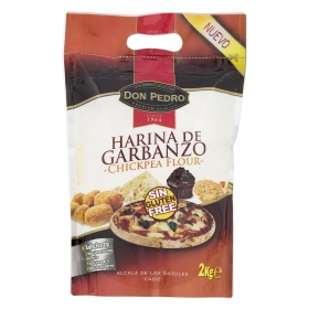 Harina de garbanzo Don Pedro sin gluten 2 kg.