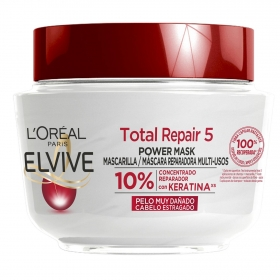 Mascarilla capilar total repair 5 L'Oréal Elvive 300 ml.