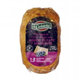 Pechuga de pollo asada con ciruelas y pistachos La Carloteña 300 g