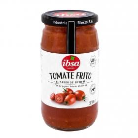 Tomate frito con aceite de oliva virgen extra Ibsa Bierzo tarro 350 g.