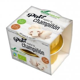 Paté vegetal de champiñón ecológico Soria Natural pack 2 unidades de 50 g.
