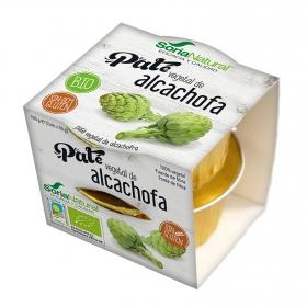 Paté vegetal de alcachofa ecológico Soria Natural pack de 2 unidades de 50 g.