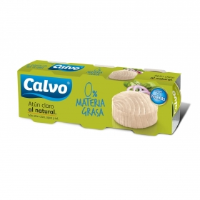 Atún claro al natural Calvo 168 g.