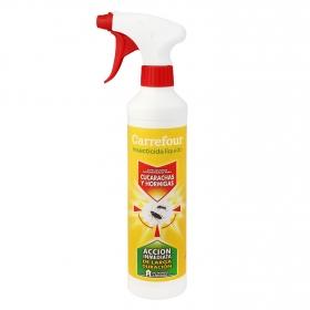 Insecticida cucarachas y hormigas líquido Carrefour 500 ml.