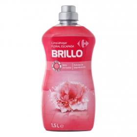 Limpiahogar Brillo aroma floral Carrefour 1,5 l.