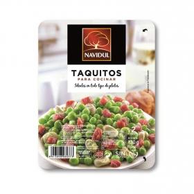 Taquitos de jamón serrano Navidul sin gluten 120 g.