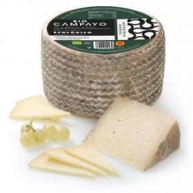Queso de oveja curado manchego ecológico Campayo 300 g aprox