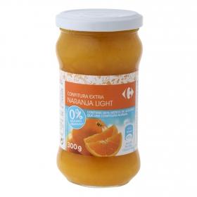 Confitura de naranja categoría extra light Carrefour 300 g.