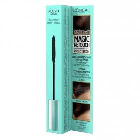 Cepillo cubre canas instantaneo castaño oscuro L'Oréal Magic Retouch 8 ml.