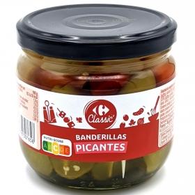 Banderillas picantes Carrefour 160 g.