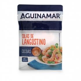 Colas de langostino cocidas Aguinamar 90 g