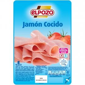 Jamón cocido El Pozo sin gluten 130 g.
