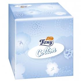 Tissues Cotton 3 capas Foxy 60 ud.