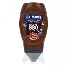 Salsa barbacoa Hellmann's envase 250 ml.