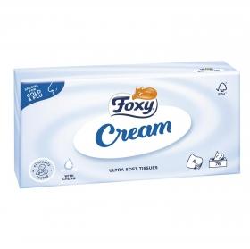Tissues Cream 4 capas Foxy 75 ud.
