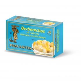 Berberechos al natural Pescantina 47 g.