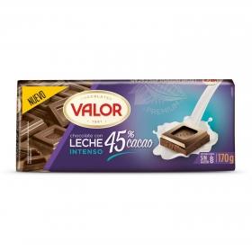 Chocolate con leche Valor sin gluten 170 g.