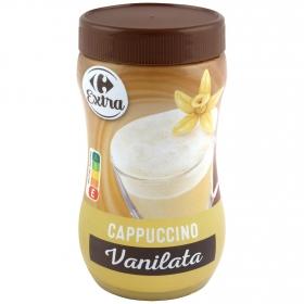Café soluble cappuccino vainilla Carrefour 310 g.