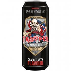 Cerveza Iron Maiden Trooper lata 50 cl.