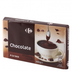 Chocolate a la taza Carrefour 300 g.