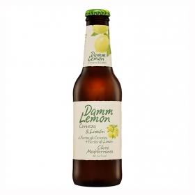 Cerveza Damm Lemon con limón botella 25 cl.