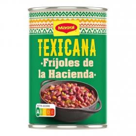 Fríjoles de la hacienda Texicana Maggi 425 g.
