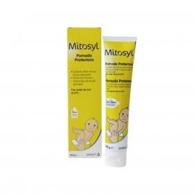 Pomada para proteger la zona del pañal Mitosyl 145 g.