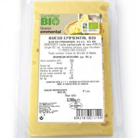 Queso emmental ecológico Carrefour Bio 200 g