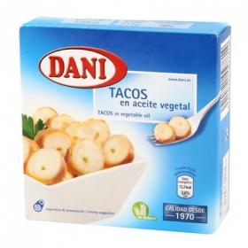 Tacos de pulpo en aceite vegetal Dani sin gluten 68 g.