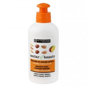 Mascarilla capilar sin aclarado nutritiva mango y nuez Les Cosmétiques Nectar of Beauty 200 ml.