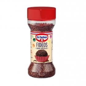 Fideos sabor chocolate Dr. Oetker 45 g.
