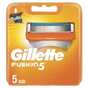 Recambio para maquinilla de afeitar Fusion5 Gillette 5 ud.