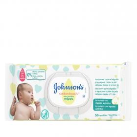 Toallitas para bebé Cottontouch Johnson's 56 ud.