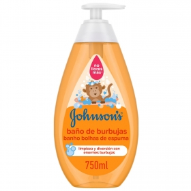 Gel de baño con burbujas Johnson's 750 ml.